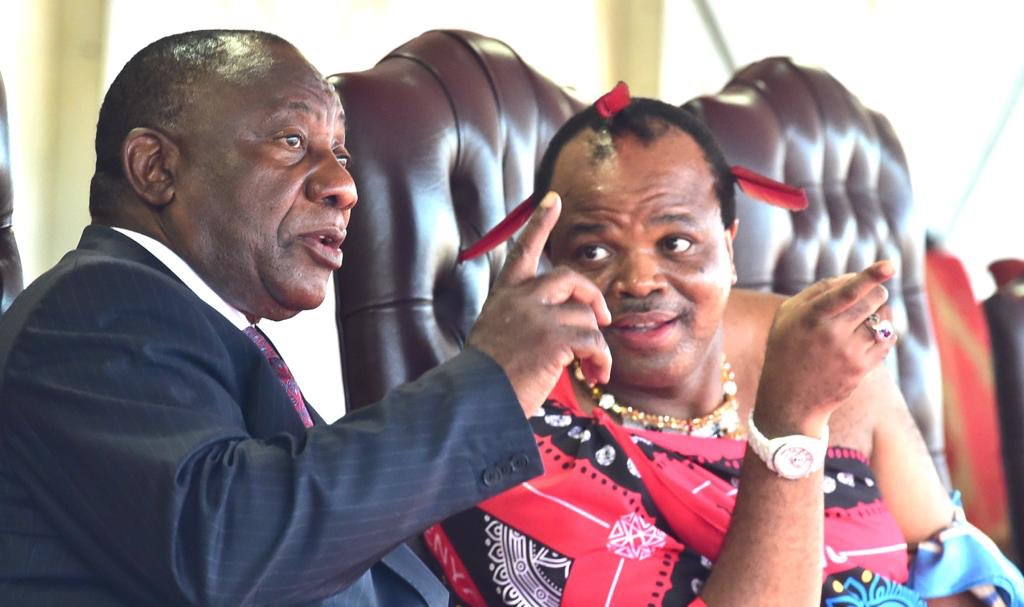 President Cyril Ramaphosa attends the Marula Festival at the invitation of His Majesty King Mswati III on the conclusion of his working visit to the Kingdom of eSwatini.