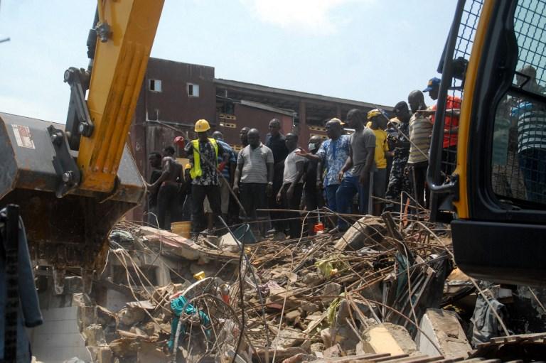 Kết quả hình ảnh cho nigeria building collapse