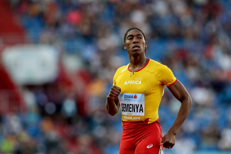 File: Caster Semenya will not line up for the 800m after winning her most recent appearance over the distance in Doha.