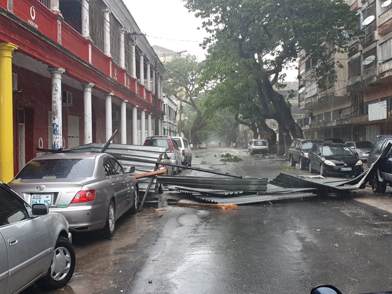 Tropical cyclone Idai battered Mozambique's coastal city of Beira