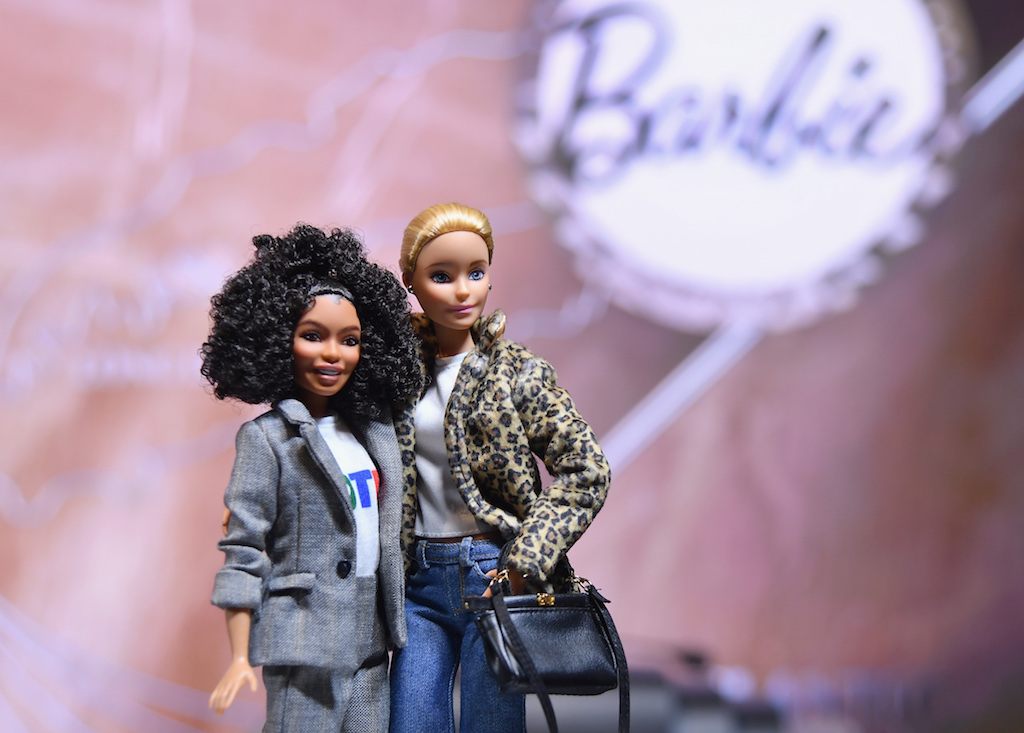 File: Mattel Inc created Barbie versions of 20 inspirational women, from Japanese tennis star Naomi Osaka to British model and activist Adwoa Aboah.