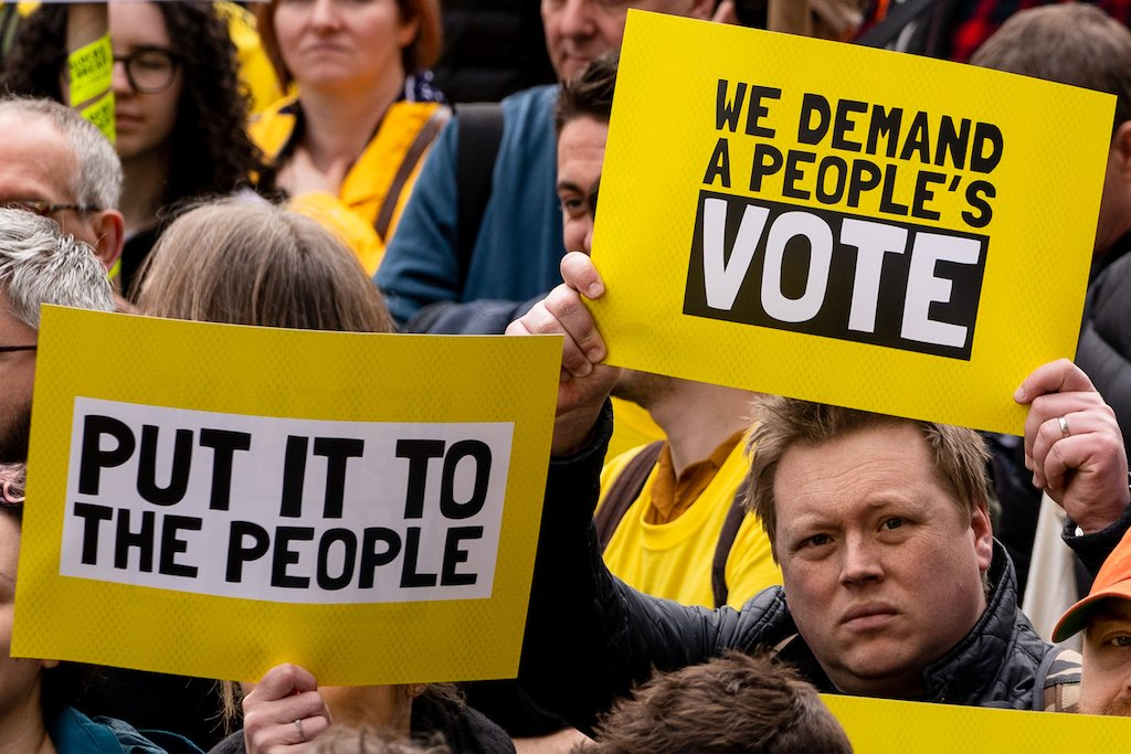 'One million people' march in London to demand second European Union referendum