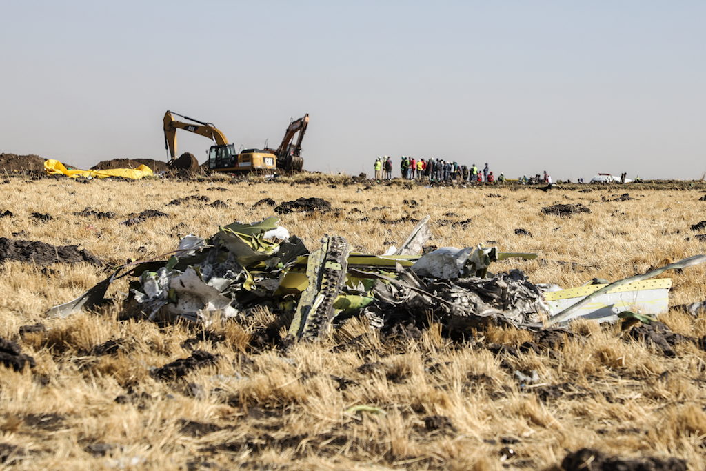 File: The March 10 crash of the plane, which was flying from Addis Ababa to Nairobi, killed all 157 people on board including seven French citizens.
