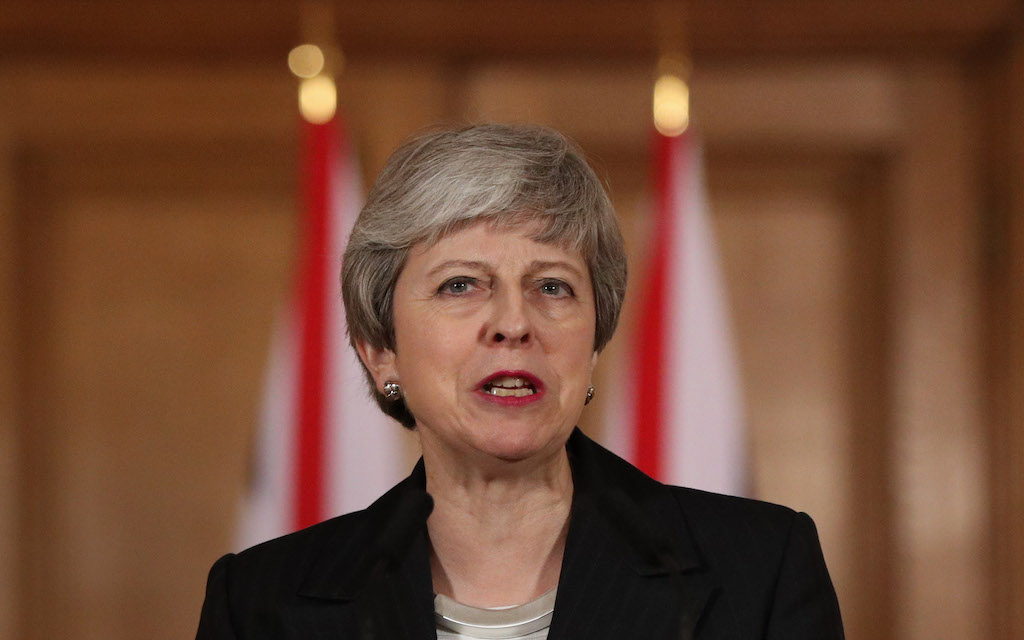 British Prime Minister Theresa May wrote to all MPs on Friday to spell out the possible paths forward.