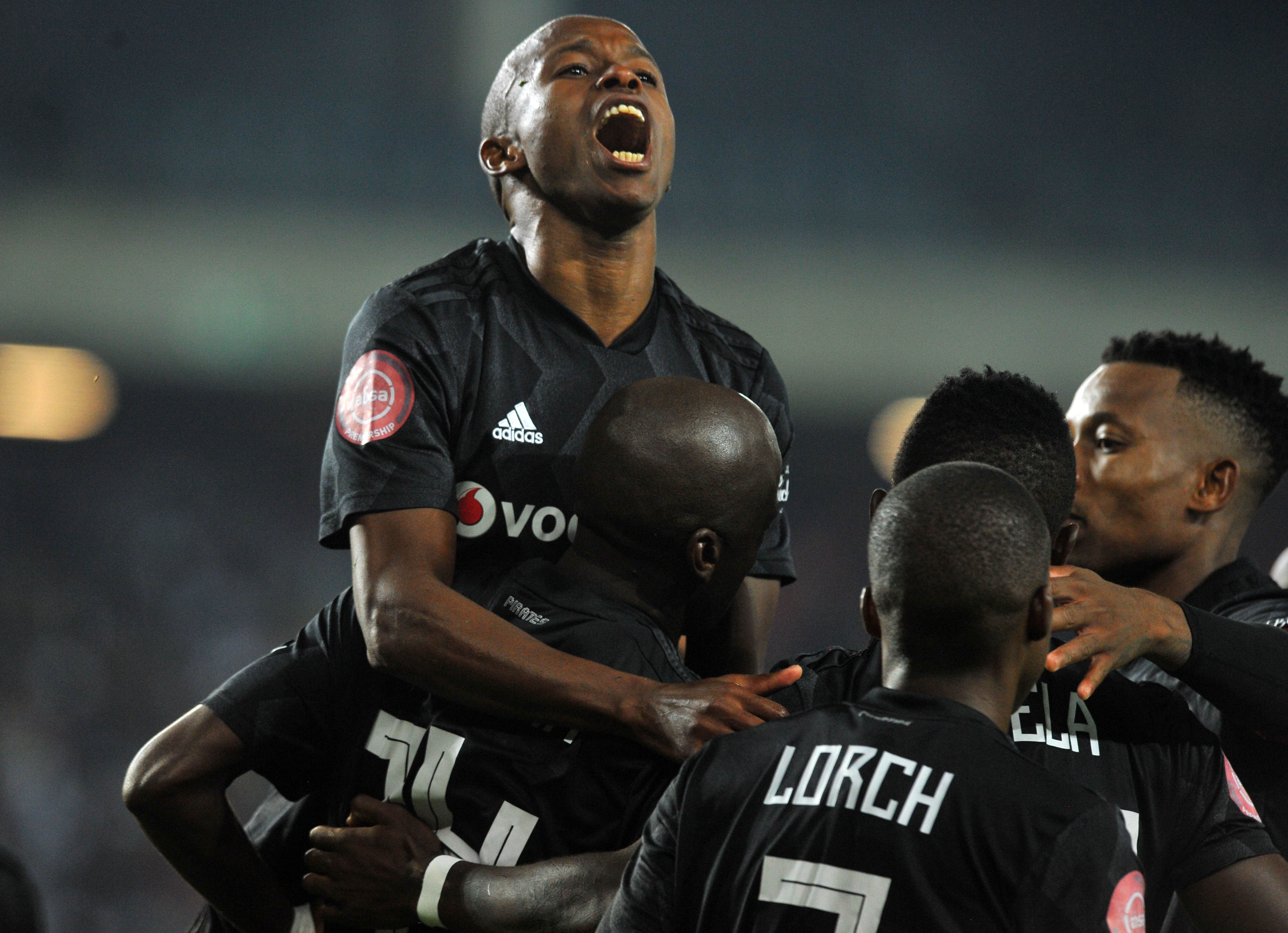 Orlando Pirates gained a huge advantage in the Absa Premiership title race after their hard-fought 1-0 win against relegation-threatened Maritzburg United at Harry Gwala Stadium on Wednesday night.