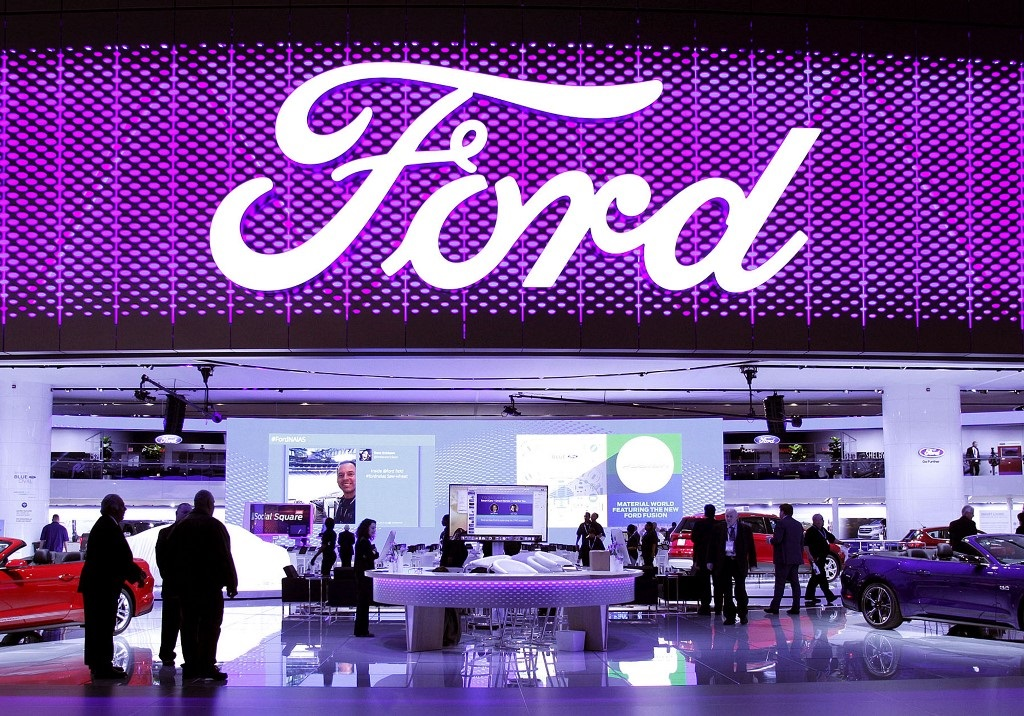 The Ford Exhibit Is Shown On First Day Of Media Preview Days At North