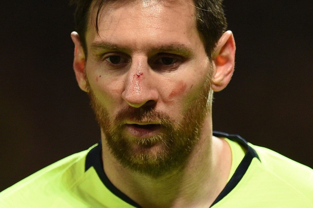 "File: Lionel Messi had accused CONMEBOL of ""corruption"" after he was sent off against Chile during the third-place play-off during the tournament in Brazil, which ended last month."