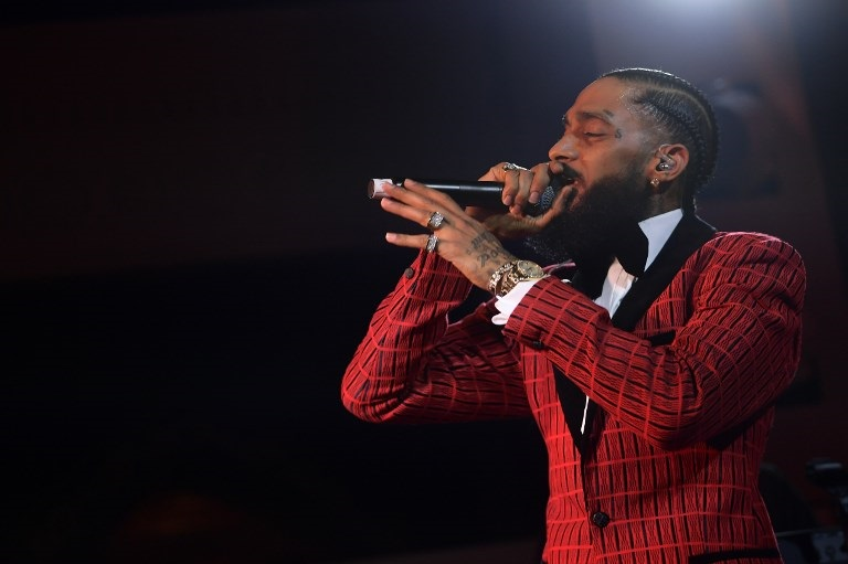 File: Nipsey Hussle was gunned down in broad daylight outside his own clothing store on March 31.