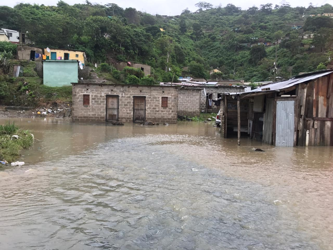 Hundreds of people have been evacuated from Port St Johns in the Eastern Cape.