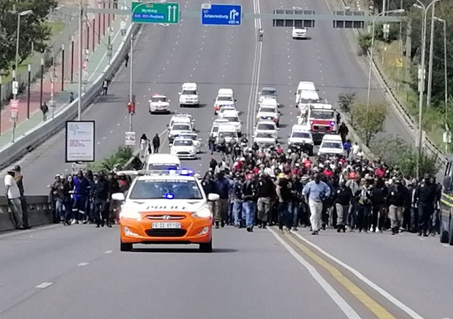 Alexandra residents have threatened to bring Sandton to a standstill.