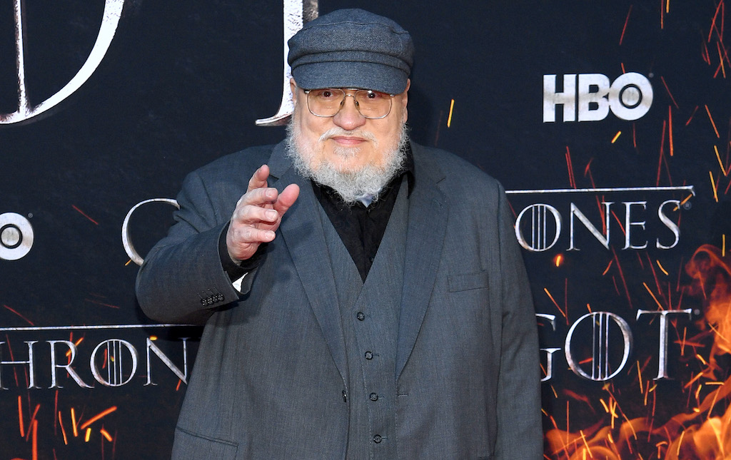 "George R. R. Martin attends the ""Game Of Thrones"" Season 8 Premiere in New York City."