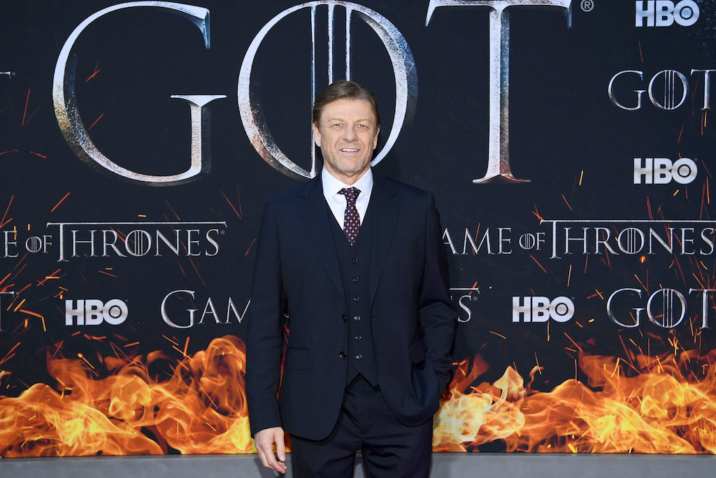 "Sean Bean attends the ""Game Of Thrones"" Season 8 Premiere."