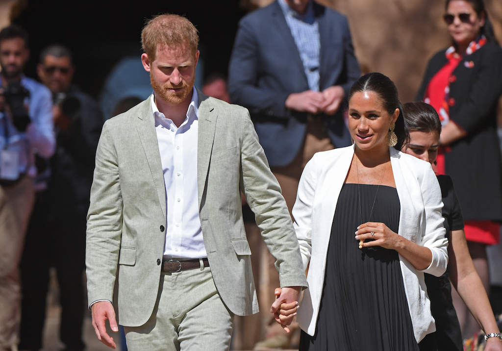 Harry and Meghan, whose official titles are Duke and Duchess of Sussex, have not given an expected due date.