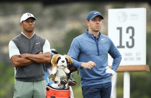 mcilroy chases career slam at masters while tiger lurks