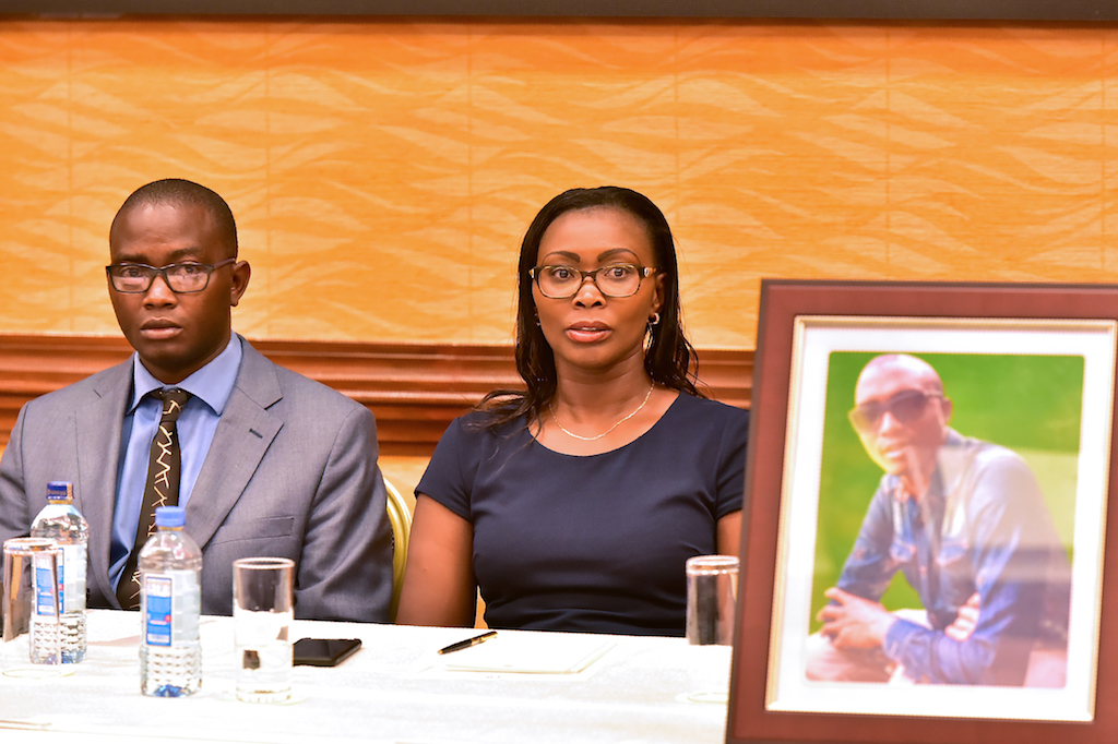 Tom and Esther Kabau announced their intention to file a law suit against US plane manufacturers Boeing over the wrongful death of their kin, George Kabau, (portrait) in last month's plane crash involving Ethiopian Airlines flight 302.