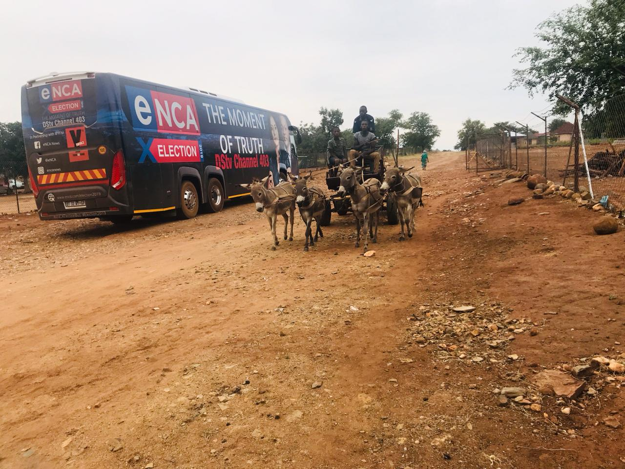 11 April 2019 - The eNCA Election Bus team is on the ground in Giyani.