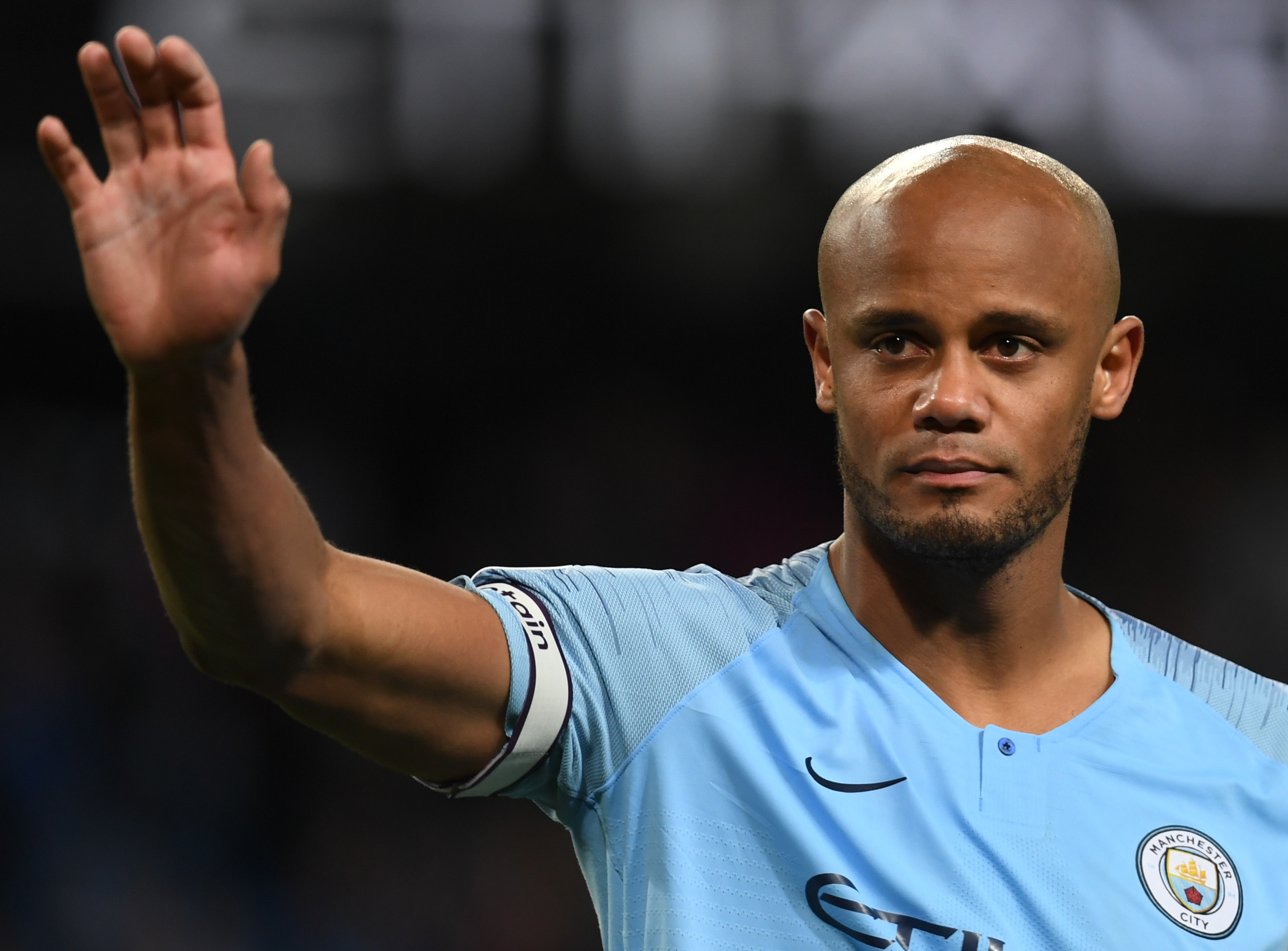 Manchester City's Belgian defender Vincent Kompany announced that he is to leave Manchester City after 11 trophy-laden years.