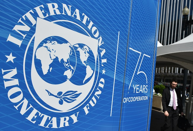 File: The IMF said on Tuesday it will meet next week to consider South Africa's request.