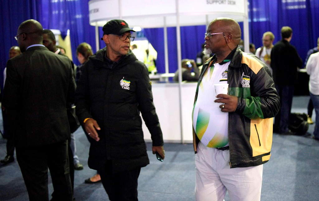 Mabe and Mantashe at the National ROC - 9 May 2019