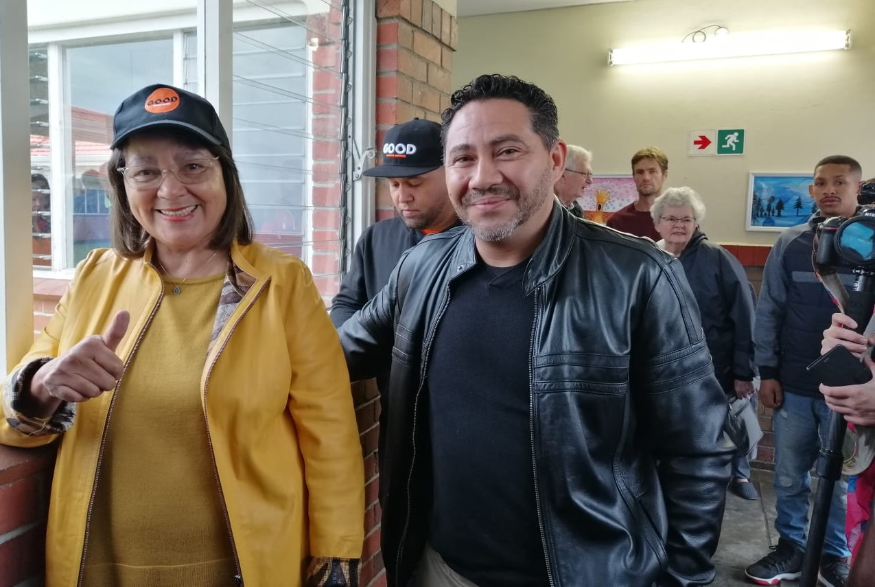 Good leader Patricia de Lille - Election 2019