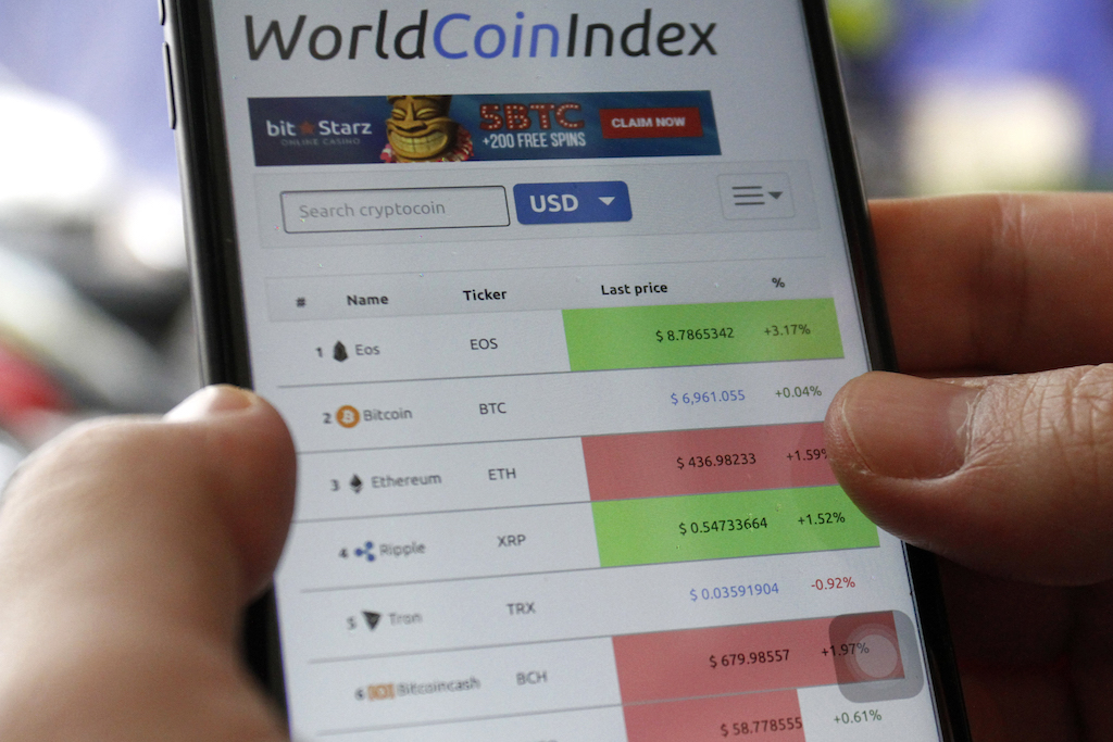 File: Cryptocurrency has flourished since Bitcoin launched in 2009.
