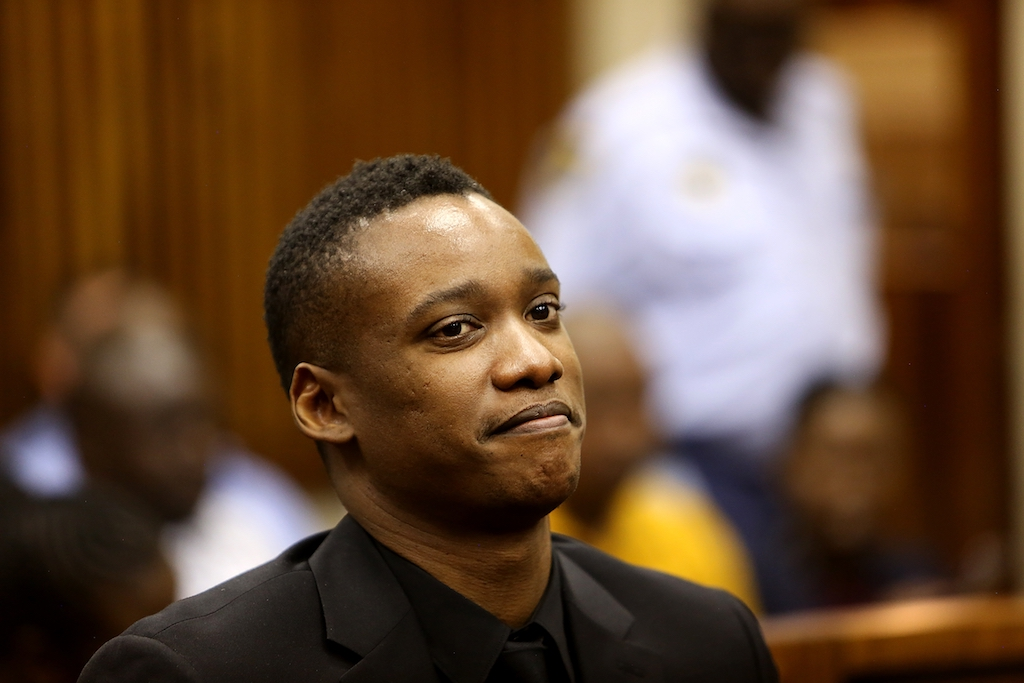 File: Duduzane Zuma at his culpable homicide case trial at the Randburg magistrate's court.