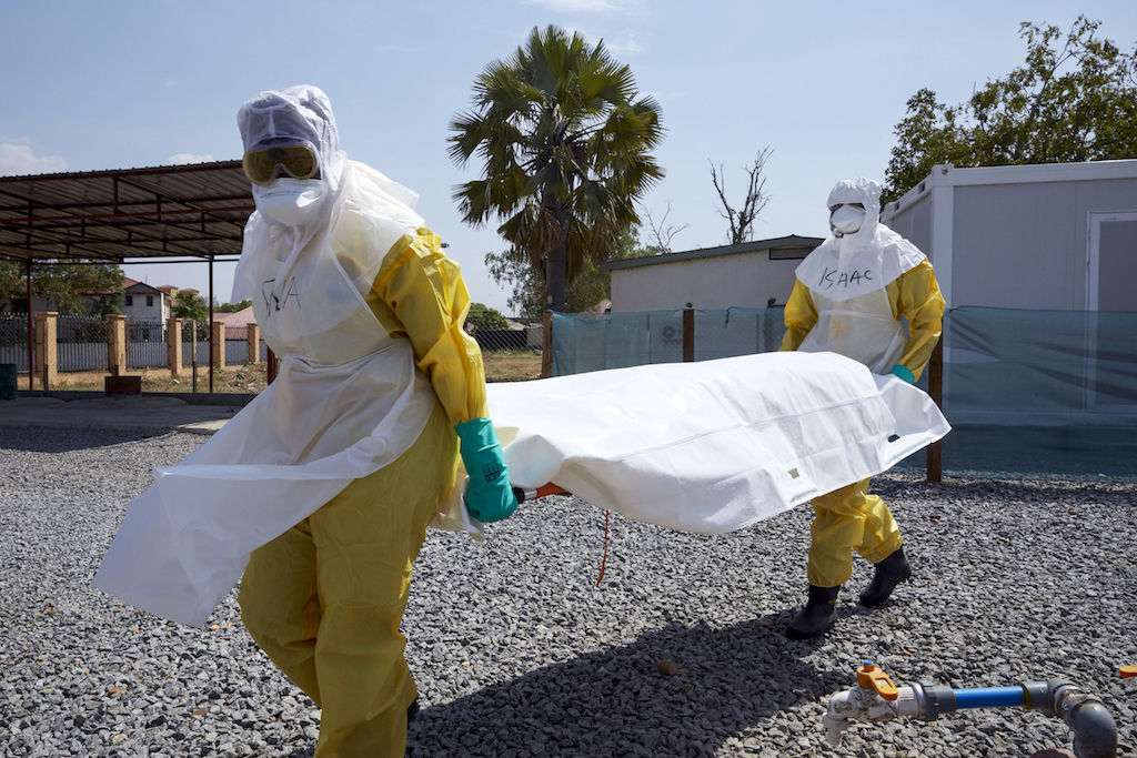 File: The WHO's handling of the Ebola outbreak is seen as perhaps its biggest failure.