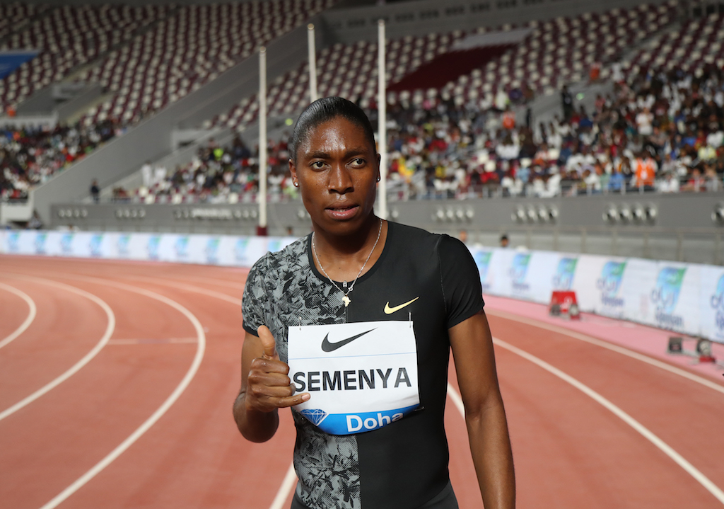 Caster Semenya warned followers that her cellphone number had been hacked.