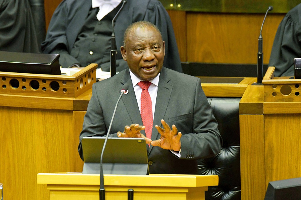 Ramaphosa shows that he's in control  But does he have what it takes