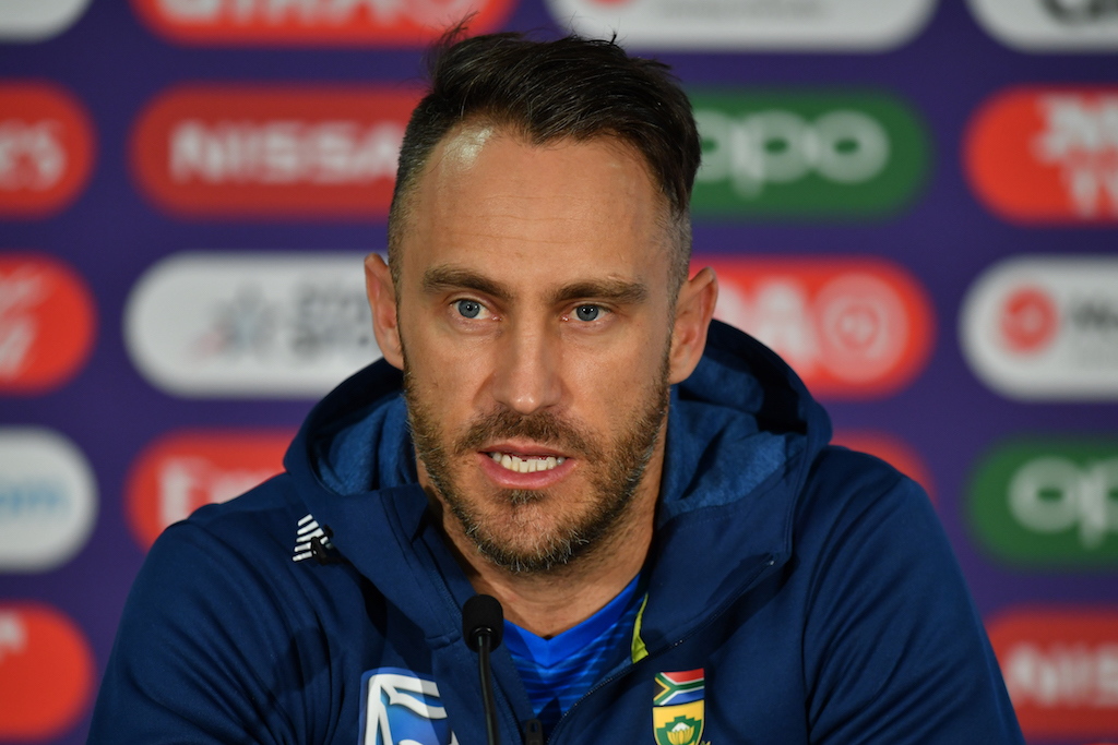 Faf du Plessis believes the only way for South Africa to achieve that unlikely target is to put their struggles behind them and focus only on the present