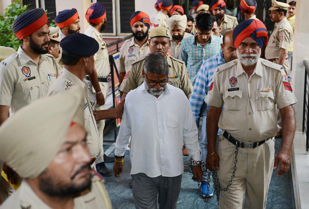 Six escape death sentence for rape, murder of Indian girl (8