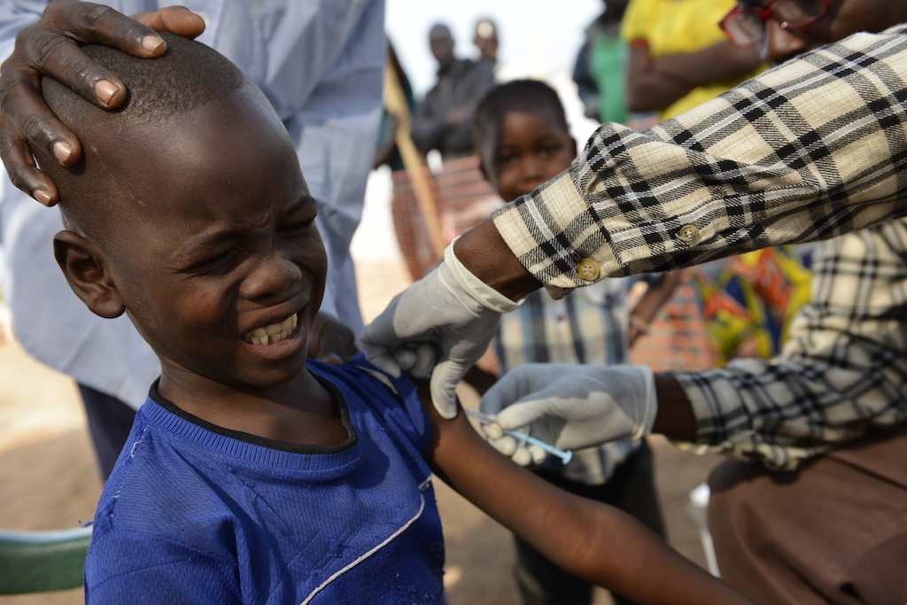 File A renewed large-scale vaccination programme has been launched to try to counter the outbreak