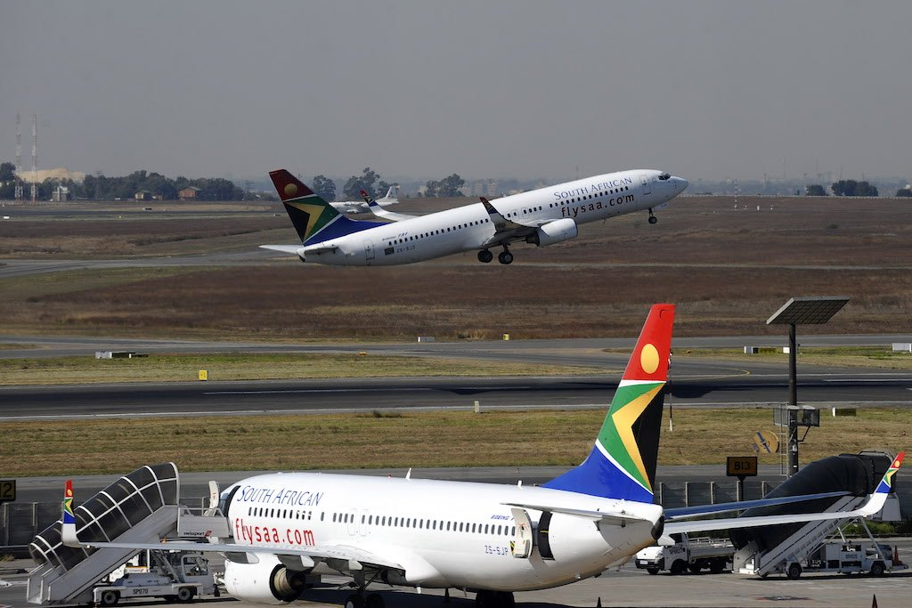 File: The SAA has warned the South African Airways Pilots' Association against making protest threats.