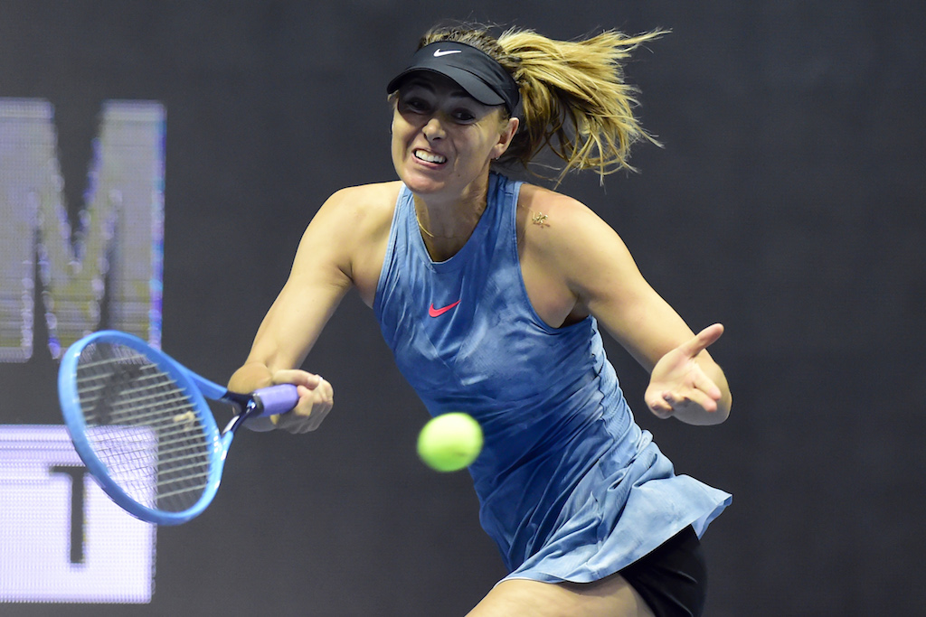 Maria Sharapova topples Viktoria Kuzmova for winning start — WTA Mallorca