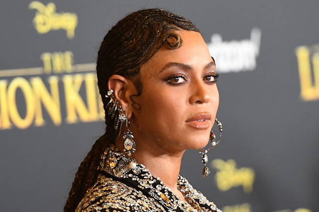 "File: Beyonce urged the Black community to use its vote in upcoming US elections to dismantle ""racist and unequal systems."""