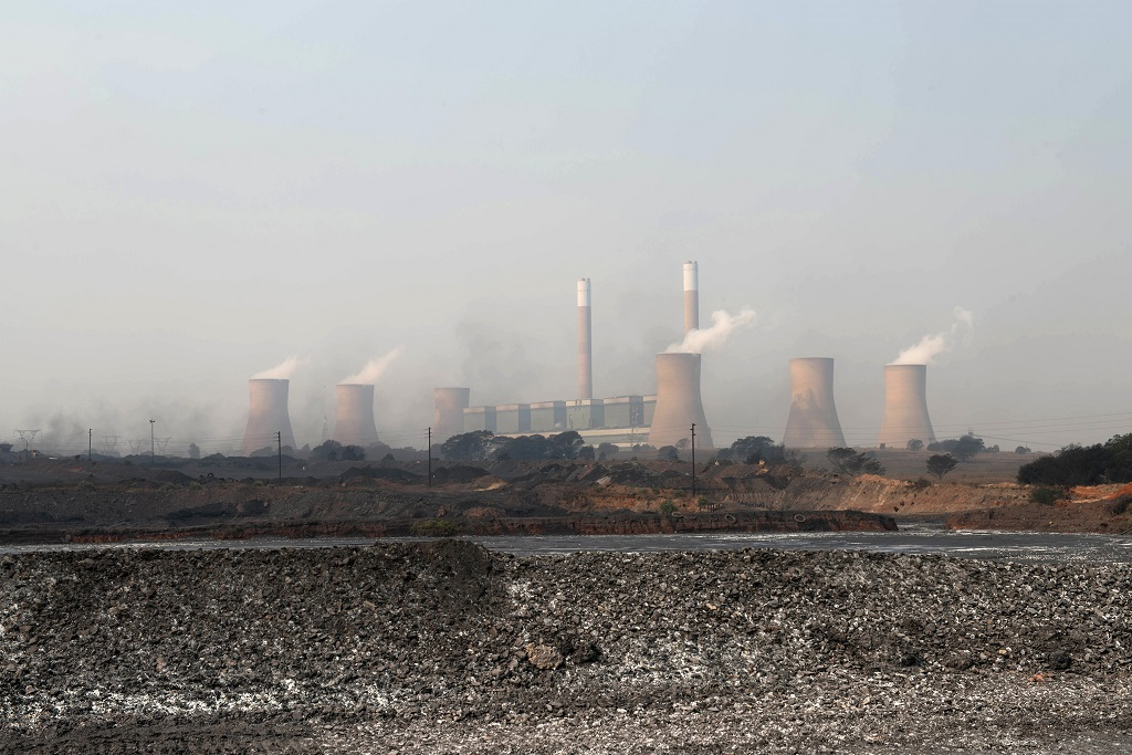 File: South Africa's new carbon tax has provoked a storm of criticism from environmental campaigners.