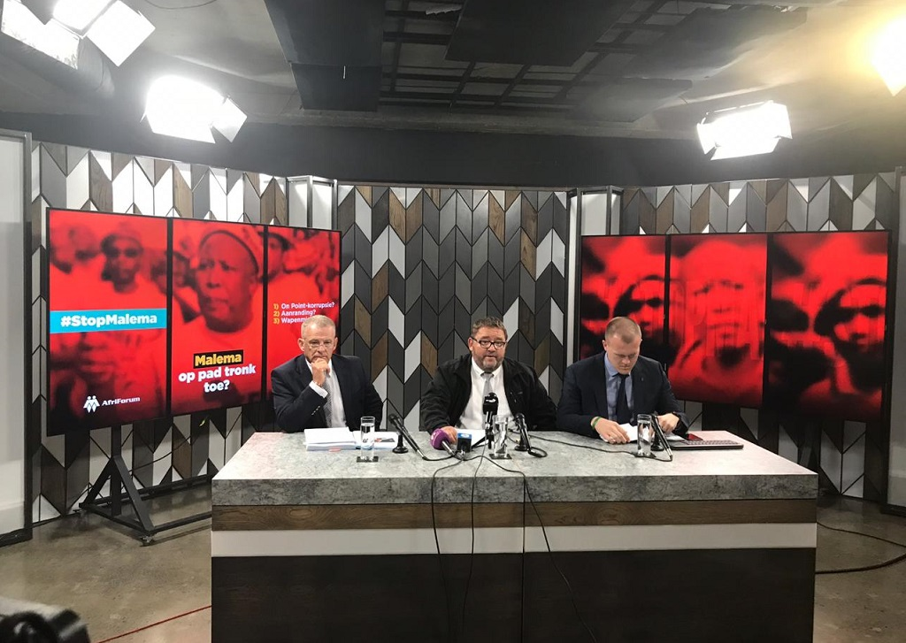 Afriforum briefing about the EFF on 10 July 2019