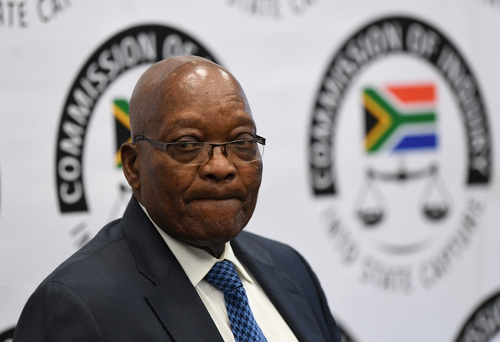 Former President Jacob Zuma has been testifying on allegations made against him by other witnesses at the inquiry.