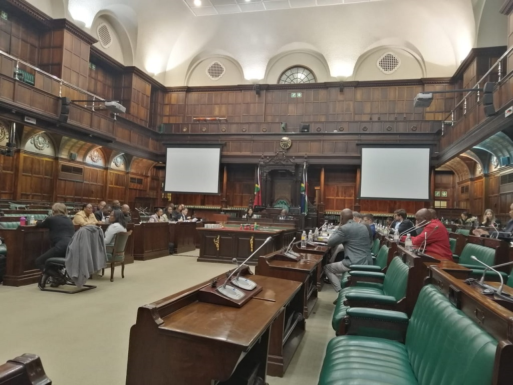 Justice Committee meeting in Parliament on 19 July 2019 over Mrwebi and Jiba