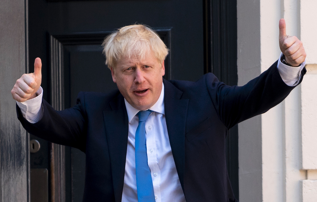 File: Prime Minister Boris Johnson.