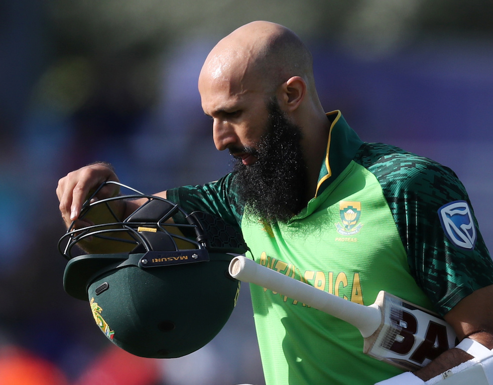 South Africa's Hashim Amla after a match.