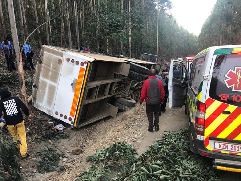 72 children injured in KZN bus crash   eNCA