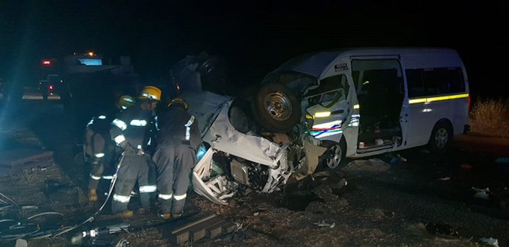 Nine people have died and 27 others have been injured in a crash in Limpopo.
