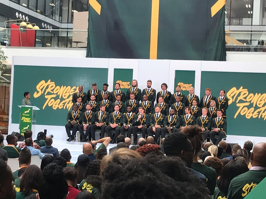 Springbok Rugby World Cup Squad