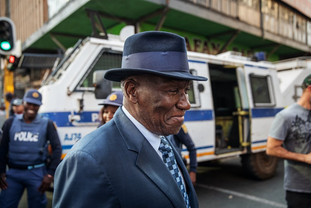 File: Police Minister Bheki Cele issued a statement, saying the docket is currently with the South African Police Service.