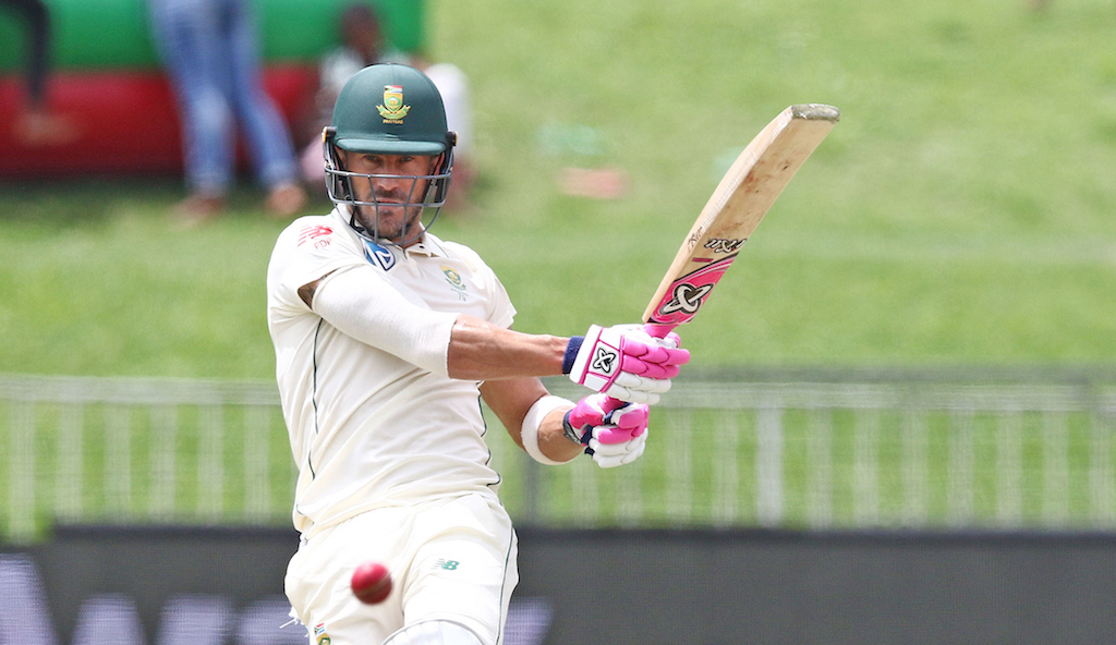 Faf du Plessis will captain South Africa in the Test series against India in October.