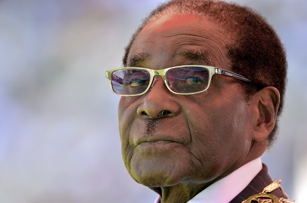 File: Zimbabweans have speculated for years about the extent of forner president Roberg Mugabe's wealth.