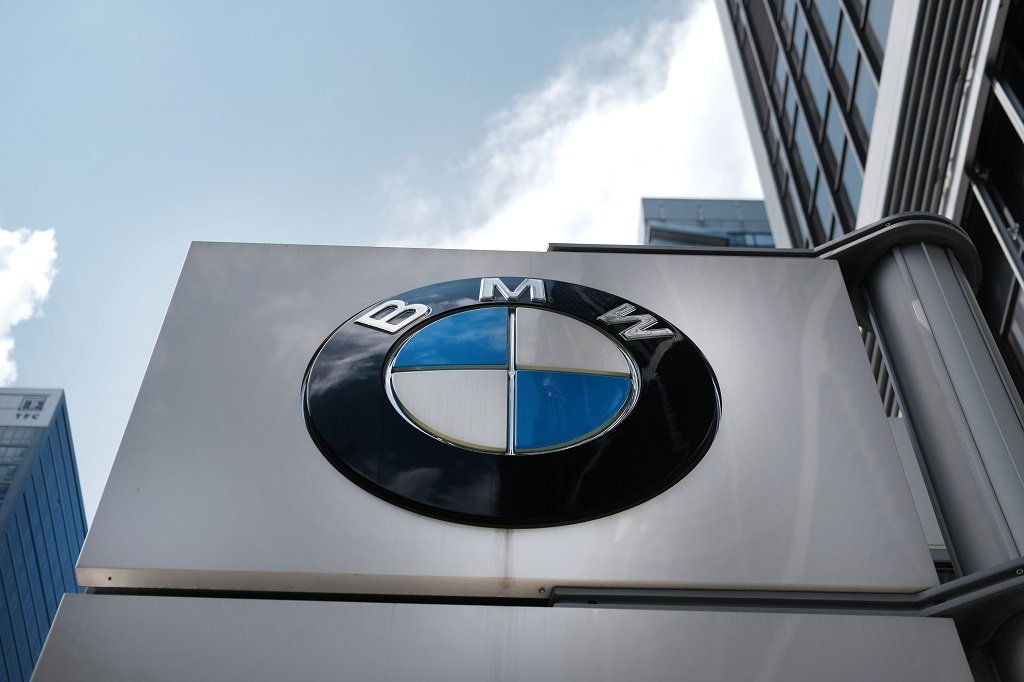File: BMW's earnings have been weighed down by 1.4 billion euros of provisions it had to set aside over a European Commission cartel probe.