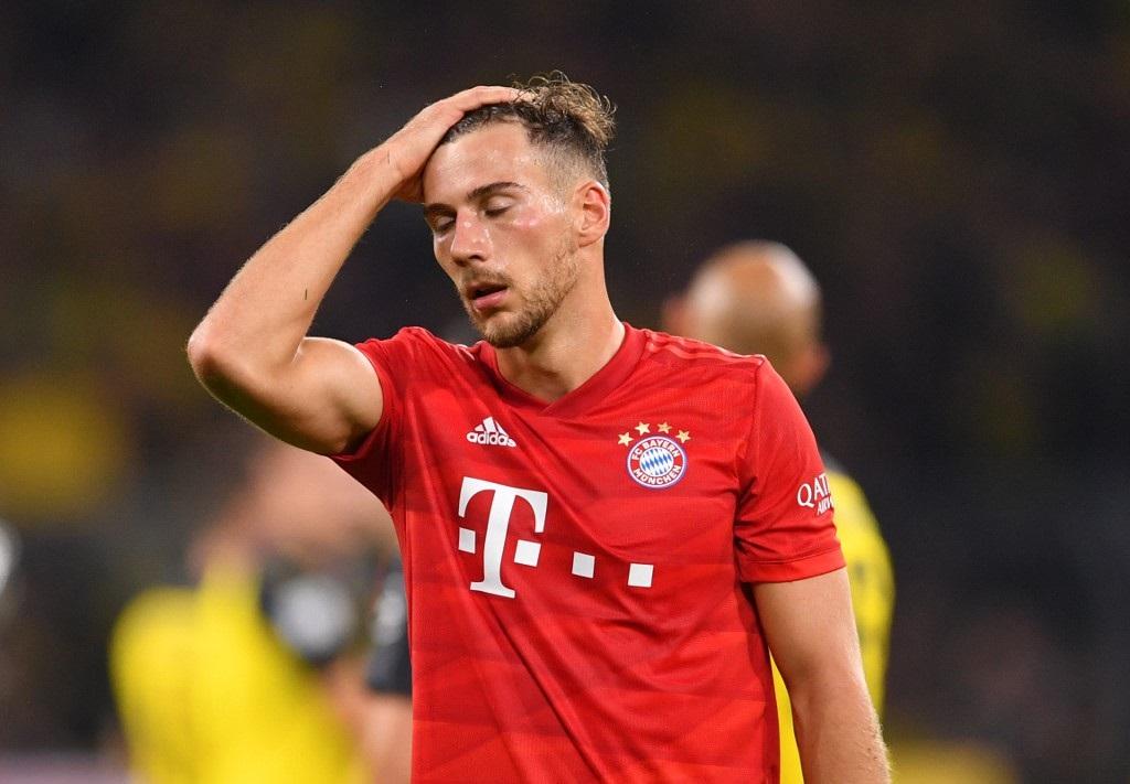Bayern Munich's German midfielder Leon Goretzka