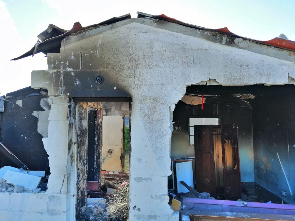 Burnt home of UCT student Uyinene Mrwetyana's alleged killer